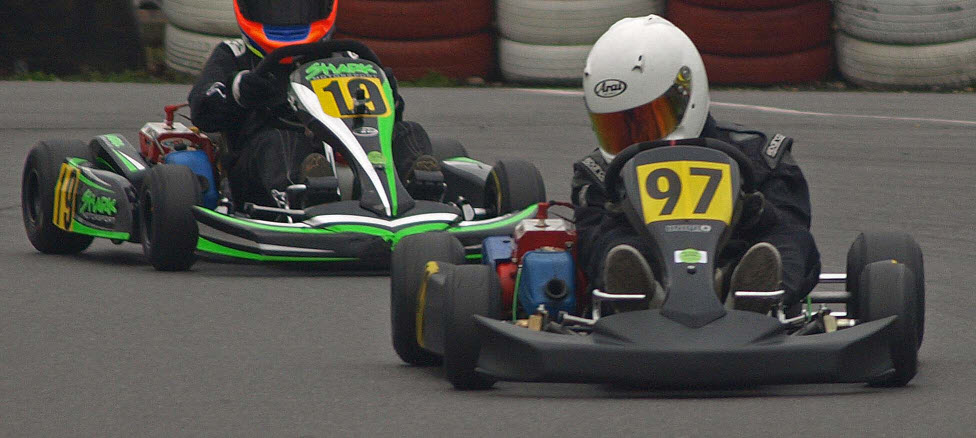 Thanassi breaking lap record March 2011